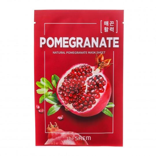 Natural Pomegranate kangasmask Granaatõun 1tk