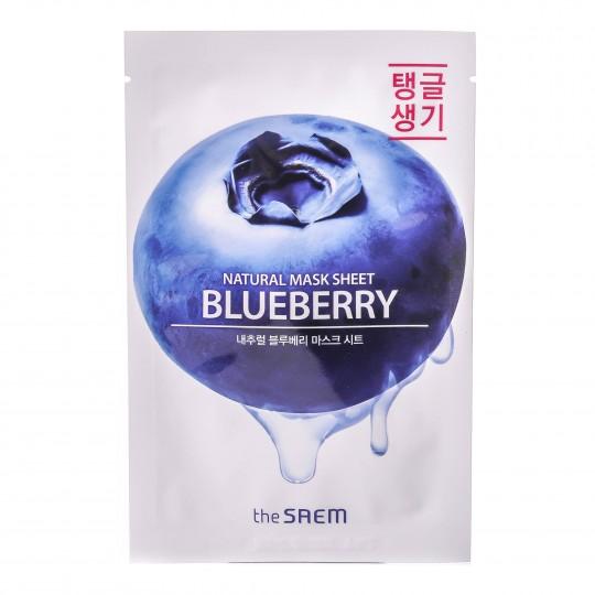 Natural Blueberry kangasmask Mustikas 1tk