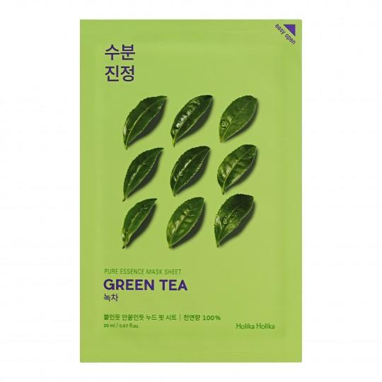 Pure Essence rohelise tee näomask 20ml