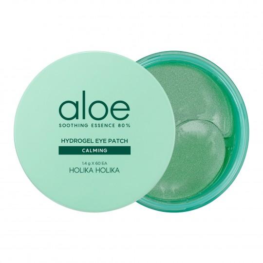 Hüdrogeelsed padjakesed silmaalustele Aloe Soothing Essence 80% 60 tk