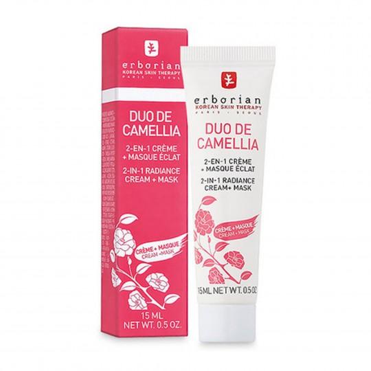 Duo de Camellia näokreem-mask 15ml