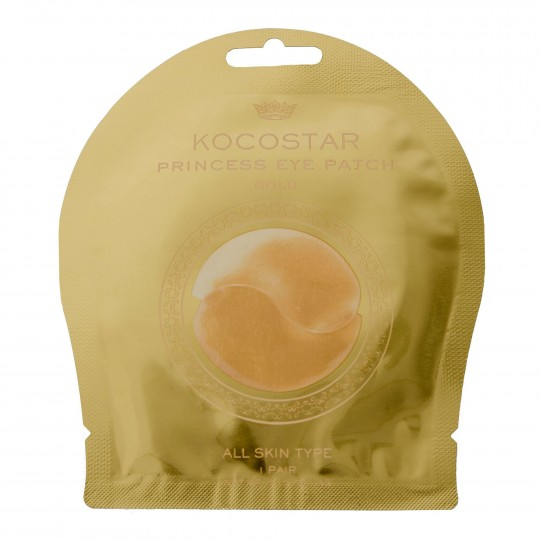 Princess Eye Patch Gold hüdrogeel-silmapadjad 1 paar