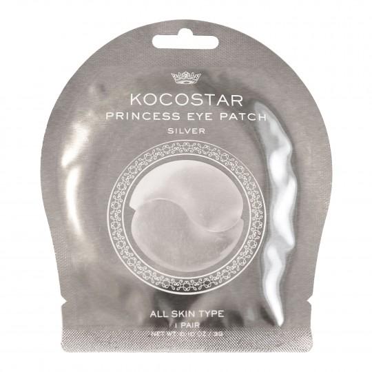 Princess Eye Patch Silver hüdrogeel-silmapadjad 1 paar