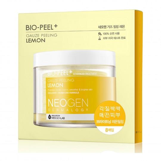 Koorimispadjake Neogen Dermalogy Bio-Peel Gauze Peeling - Lemon 8 tk