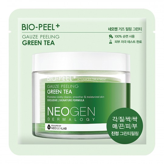 Koorimispadjake Neogen Dermalogy Bio-Peel Gauze Peeling - Green Tea 1 tk