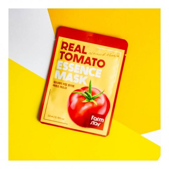 Real Tomato toitev ja niisutav kangasmask 23ml