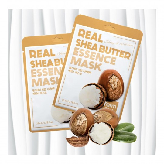 Real Shea Butter pehmendav ja toitev kangasmas 23ml
