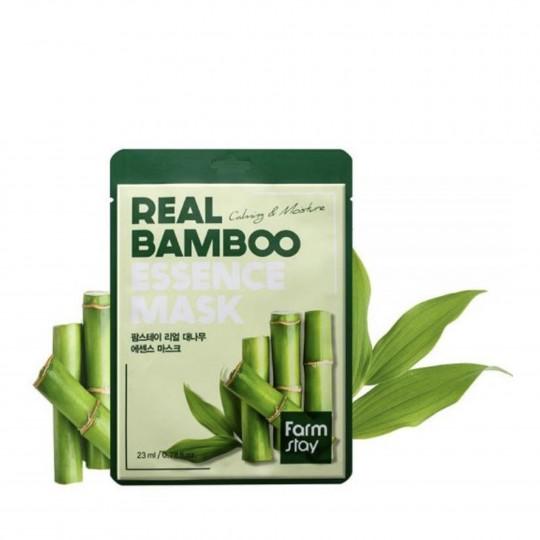Real Bamboo rahustav ja niisutav kangasmask 23ml