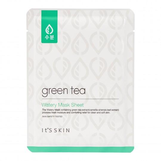Rohelise tee niisutav ja värskendav mask 17g