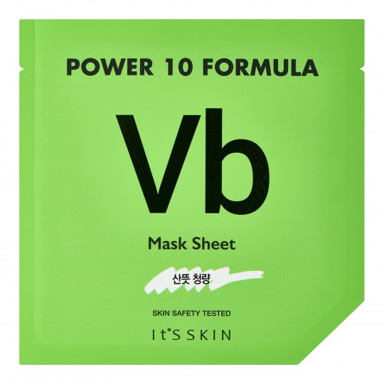 Power 10 naha rasueritust reguleeriv B-vitamiini mask 25ml