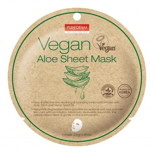 Vegan Aloe kangasmask 1 tk