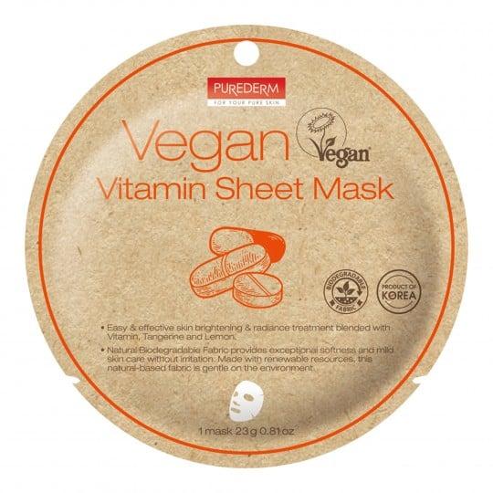 Vegan Vitamin kangasmask 1 tk