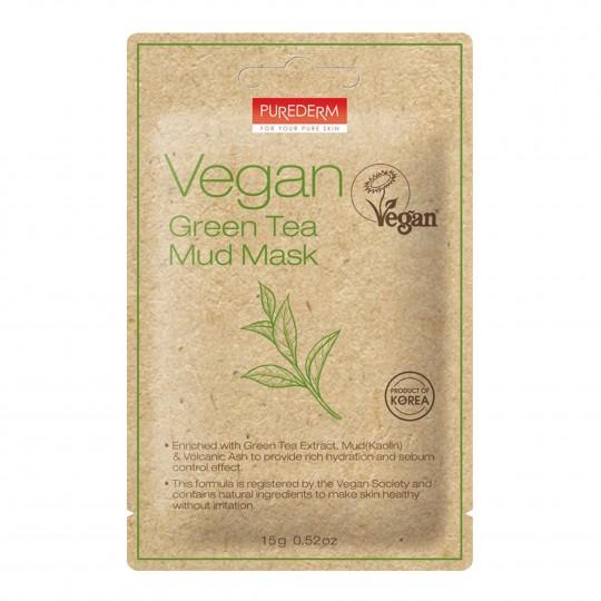 Vegan rohelise tee mudamask 1tk