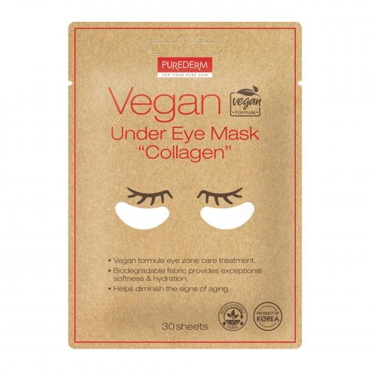 """Vegan silmaaluse maskid """"Collagen"""" 30tk"""