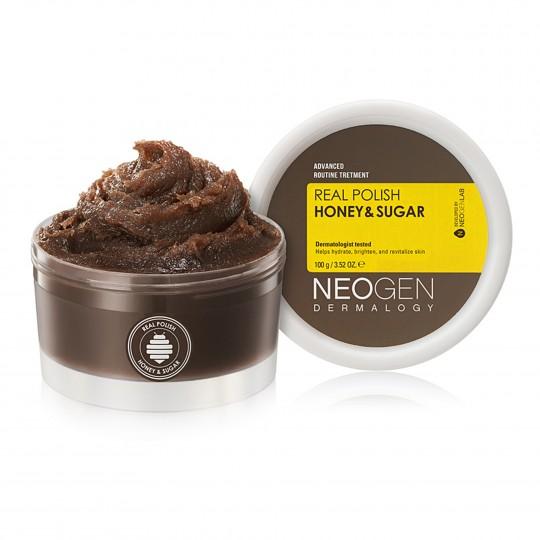 Näokoorija Neogen Dermalogy Real Polish Honey & Sugar 100g