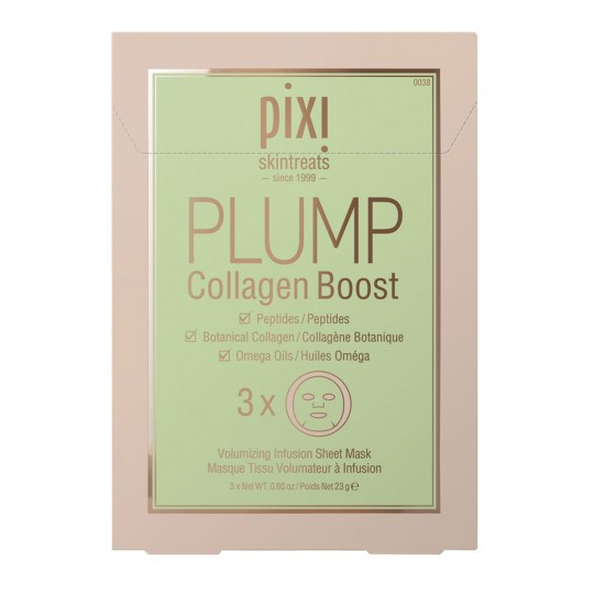 Noorendavad kangasmaskid Plump Collagen Boost 3tk