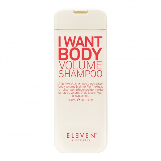 I Want Body Volume volüümiandev šampoon 300ml